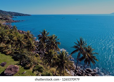 Ilhabela, Brazil: Aerial view of a beautiful place. Fantastic landscape. Great beach view. Travel, destination, tourism point, vacation, tranquility, dream, peace.