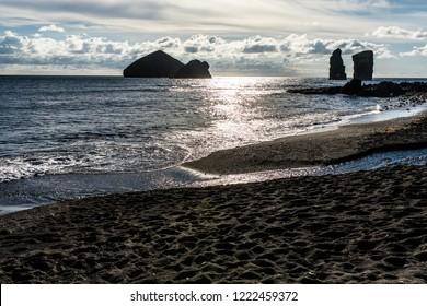 Ilheos dos Mosteiros on Sao Miguel Azores