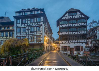 The Ill river in Petite France area, Strasbourg
