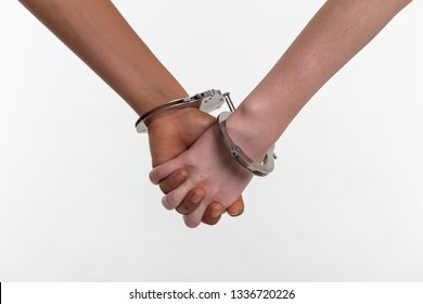 Handcuffing Little Kids May Not Be >> Child Handcuffs Images Stock Photos Vectors Shutterstock