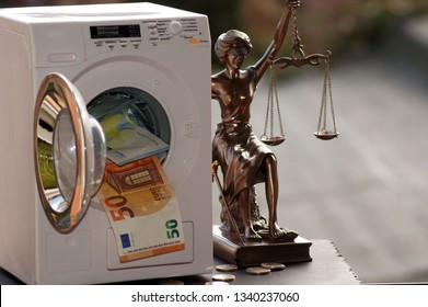 Illegal Money Laundering and Lady Justitia