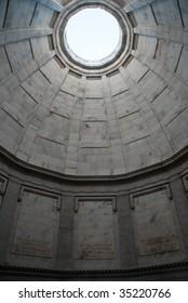 Illinois Memorial rotunda