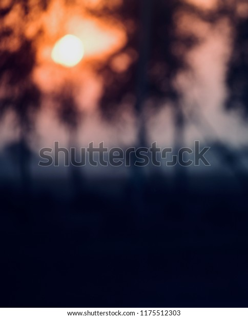 Illuminated blurry sunlights unique abstract background photo