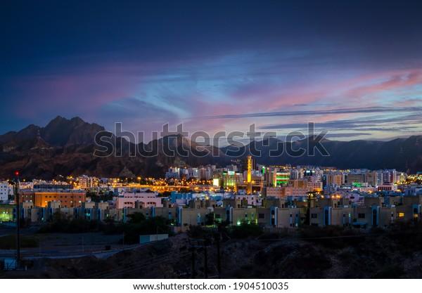 illuminated-buildings-during-evening-mus
