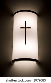 Illuminated cross
