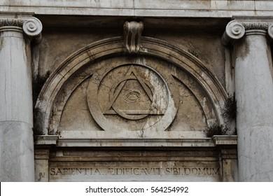 Illuminati, All seeing Eye Symbol