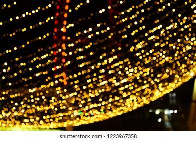 The illumination of Christmas