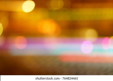 Illumination at winter night