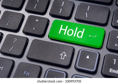 to illustrate hold concepts in stock trading.