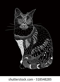 Illustrated Cat