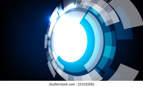 illustration abstract background wallpaper / technology wallpaper