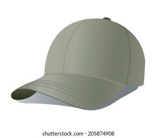 illustration of baseball cap