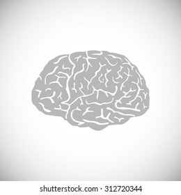 illustration of brain designs  These are iconic representations of creativity, ideas, inspiration, intelligence, thoughts, strategy, memory, innovation, education