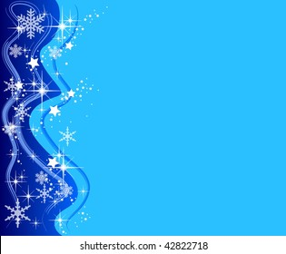 illustration of a christmas background