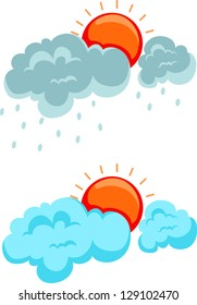 illustration Clouds jpg (EPS vector version id 128588135,format also available in my portfolio)