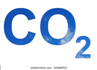 Illustration of the CO2 pattern over the sky