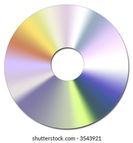 Illustration of the Compact Disc