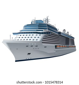 illustration of cruise ship