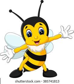 bee cartoon images stock photos vectors shutterstock rh shutterstock com bumble bee clipart for teachers bumble bee clip art images