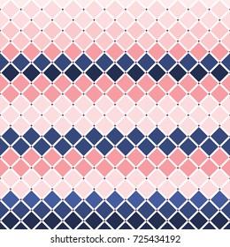 Illustration of diamond checker tiles background.Stylish diamond shape pattern design/Diamond Tiles