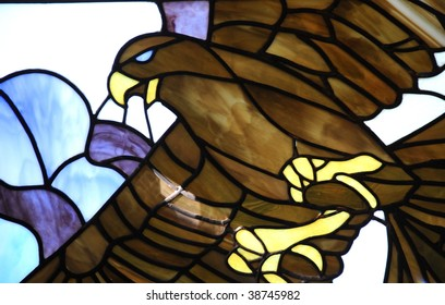 Stained Glass Bird Images Stock Photos Vectors Shutterstock