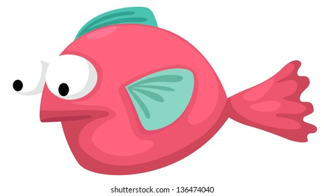 Illustration of fish white background (EPS vector version id 133591244,format also available in my portfolio)