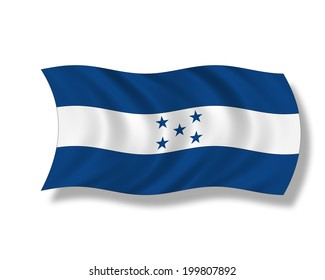 Illustration, Flag of Honduras