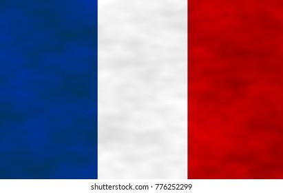 Illustration of French Flag