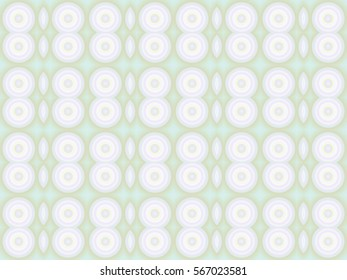 Illustration of geometric seamless tile in soft pastel colors.