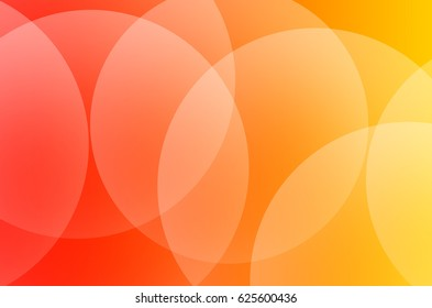 illustration graphics red and yellow color background