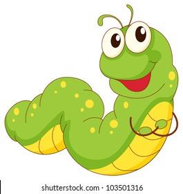 worm clip art images stock photos vectors shutterstock rh shutterstock com worm clipart free worm clipart images
