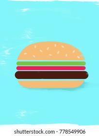 Illustration of Hamburger