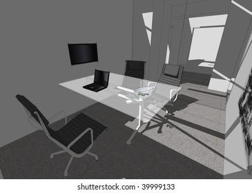 Illustration   of interior