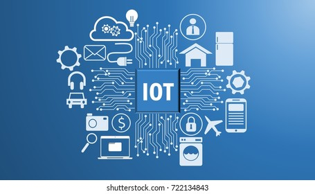 Illustration of Internet of things (IOT)