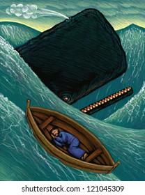 illustration of Jonah