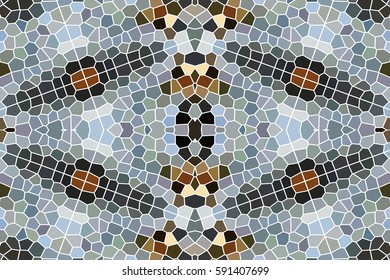Illustration of a kaleidoscope, Colorful mosaic texture, mosaic patterns, seamless texture of a kaleidoscope, the color of the background of the kaleidoscope, mosaic, illustration, geometric pattern.