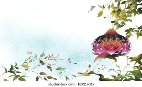 Illustration of nature