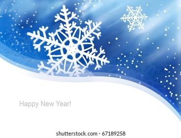 Illustration for New Year, Christmas card or packaging.