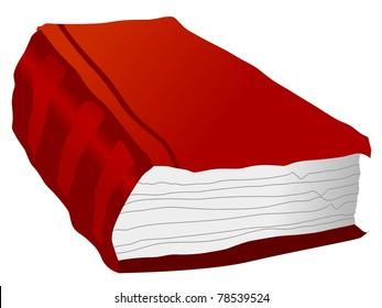 Illustration of old book