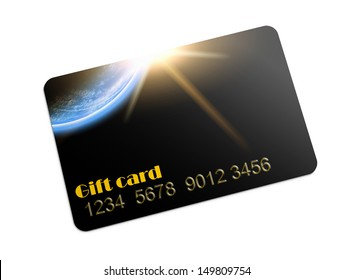 Generic gift card images stock photos vectors shutterstock illustration of plastic gift card used space sunrise image is my own picture colourmoves Images