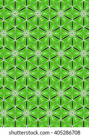 Illustration of repetitive pattern