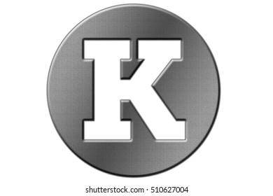 Illustration of round shape font letter english alphabet on a transparent wipe board.