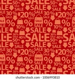 illustration of sale pattern