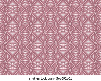 Illustration of seamless tile in monochromatic pink.