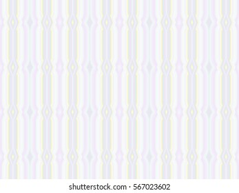 Illustration of seamless tile with soft pastel stripes.