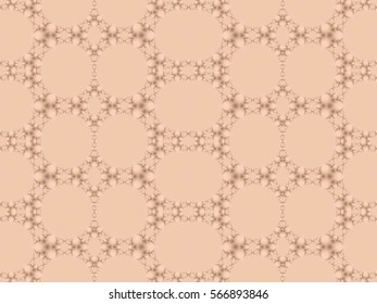 Illustration of seamless tile in soft vintage pink and taupe.