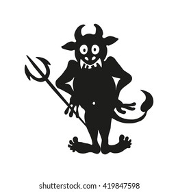 An illustration of a troll or other monster