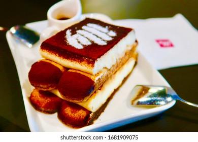 Illy Tiramisu Cake at illy cafe