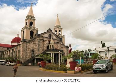 Iloilo, Philippines - February 15, 2016. Jaro Evangelical Church in Iloilo Philippines.