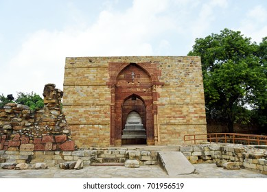 Iltutmish's Tomb. Iltutmish's Tomb is located in the Qutb Complex in New Delhi.